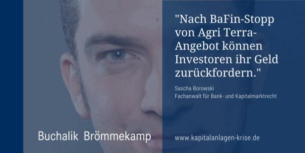 BaFin: Investoren können Geld zurückfordern