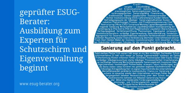 ESUG-Berater Lehrgang
