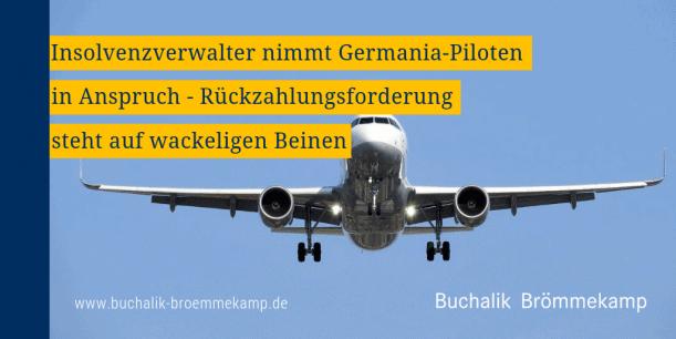 Germania: Rückzahlungsanforderung unsicher