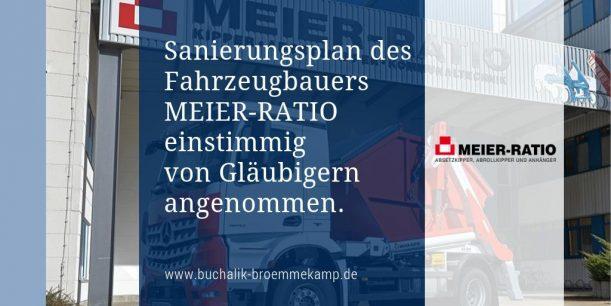 Sanierung Meier-Ratio einstimmig angenommen