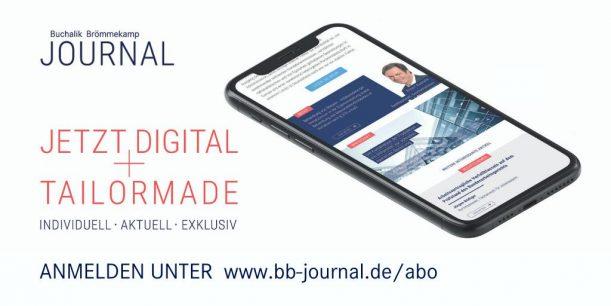 BB Journal: jetzt anmelden