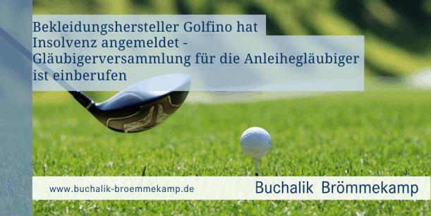 Golfino Insolvenz