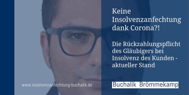 Rückzahlungspflicht bei Insolvenz