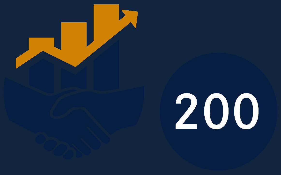 200 Unternehmen