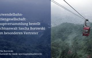 Sascha Borowski zum besonderen Vertreter von Karwendelbahn-AG bestellt