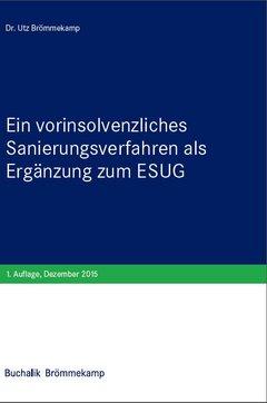 Vorinsolvenzliches Sanierungsverfahren als Ergänzung zum ESUG
