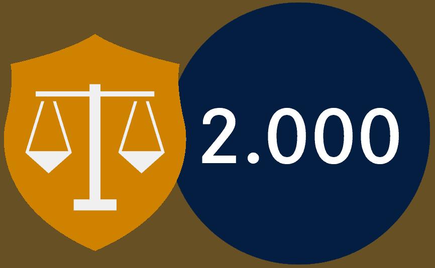2000 geführte Prozesse