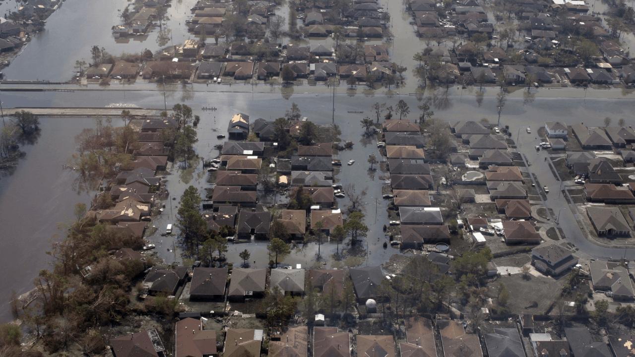 Hochwassergebiet